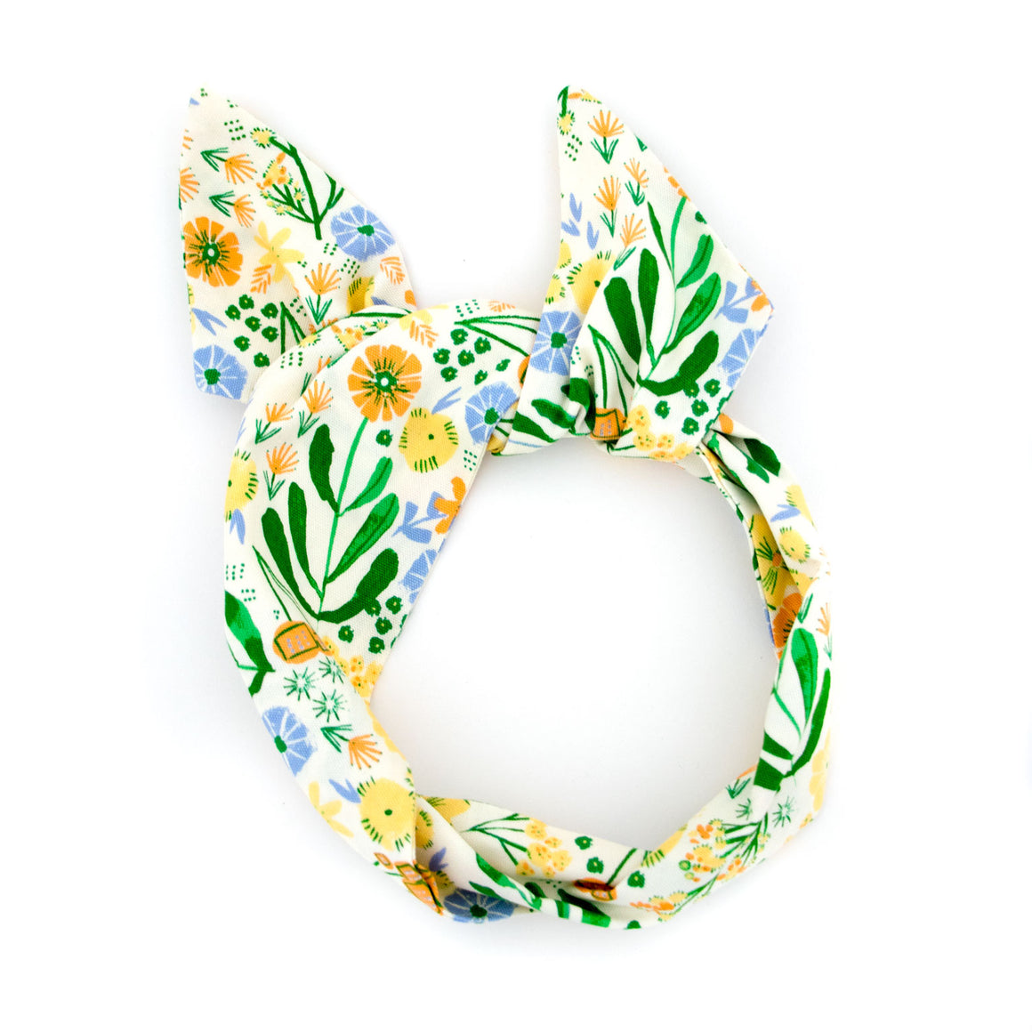 Happy Floral Wire Headband