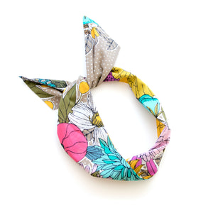 Sixties Floral Wire Headband