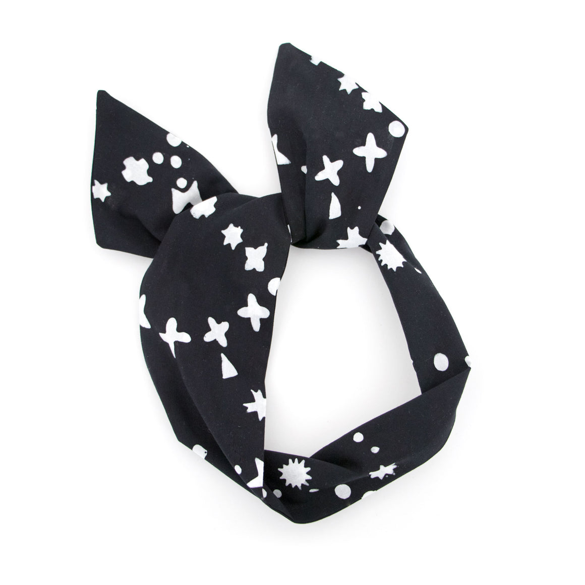 Black Dot Wire Headband