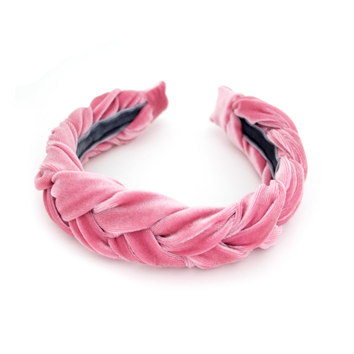 Pink Braided Headband