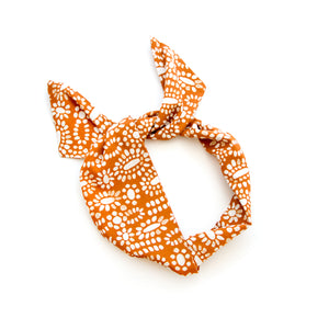Orange Starburst Wire Headband