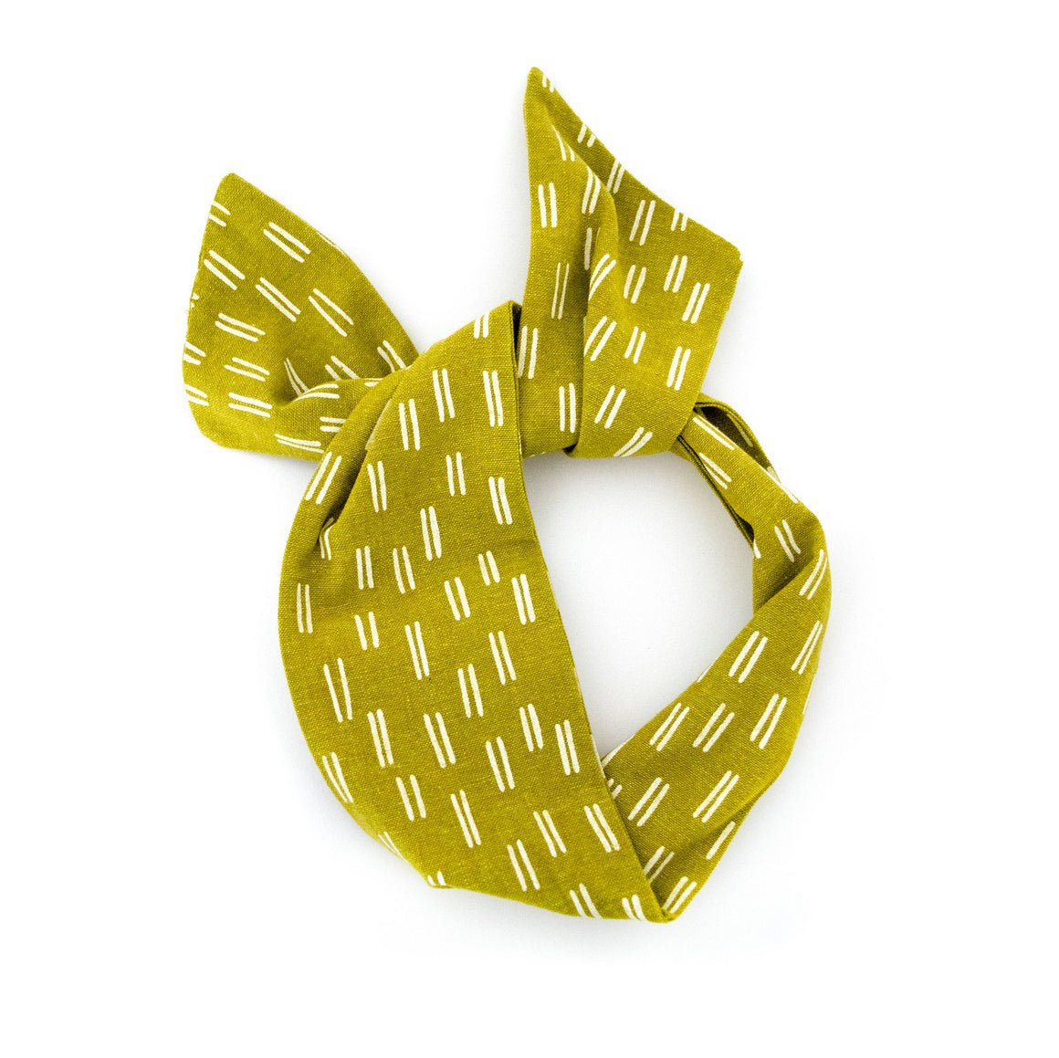 Chartreuse Dash Wire Headband