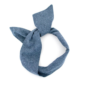 Chambray Wire Headband