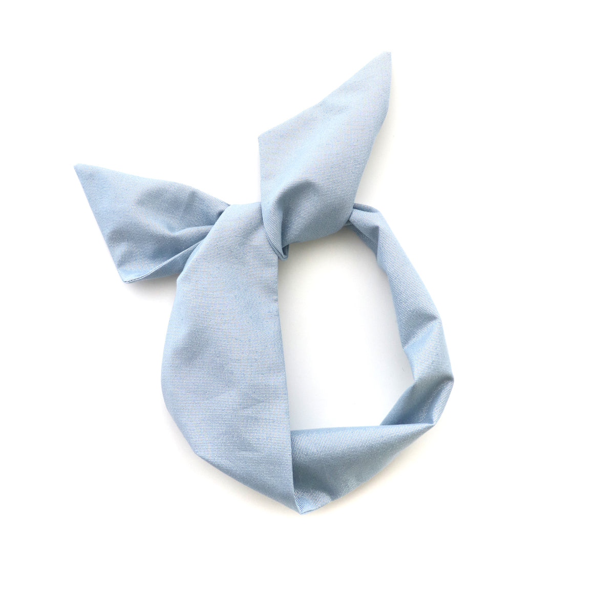 Baby Blue Sparkle Wire Headband