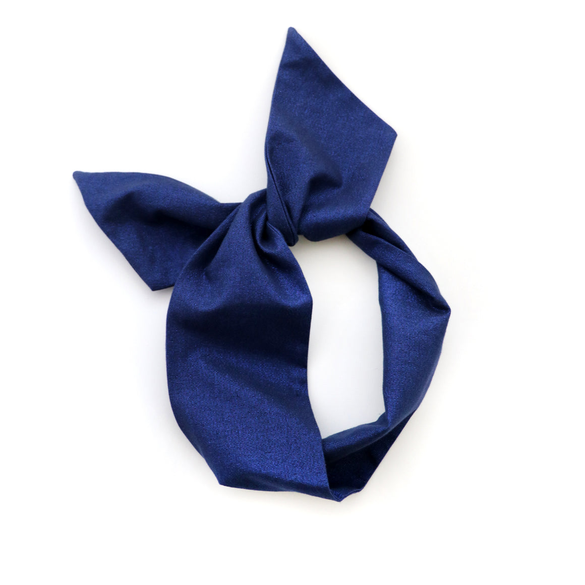 Royal Blue Sparkle Wire Headband