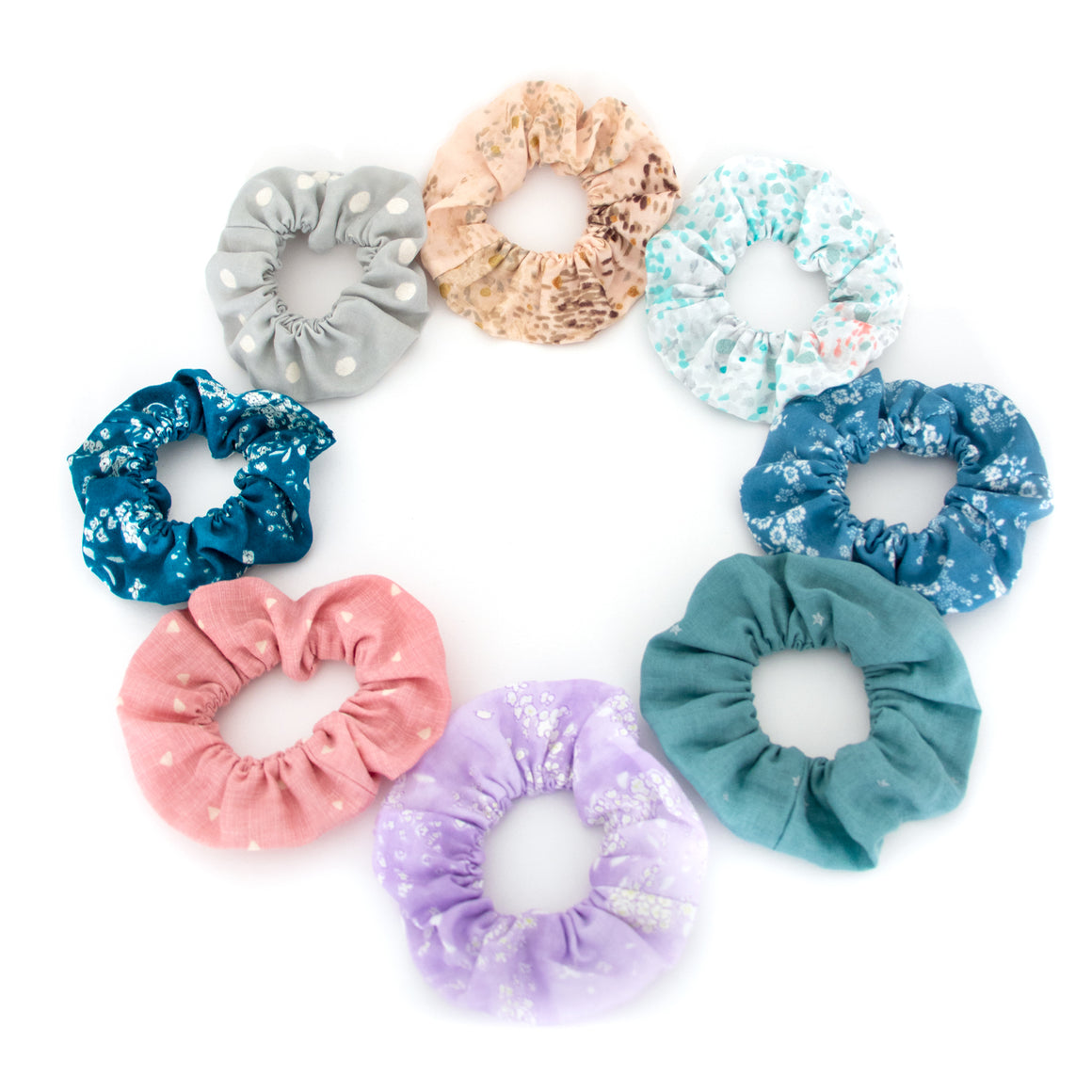 Japanese Fabric Scrunchies