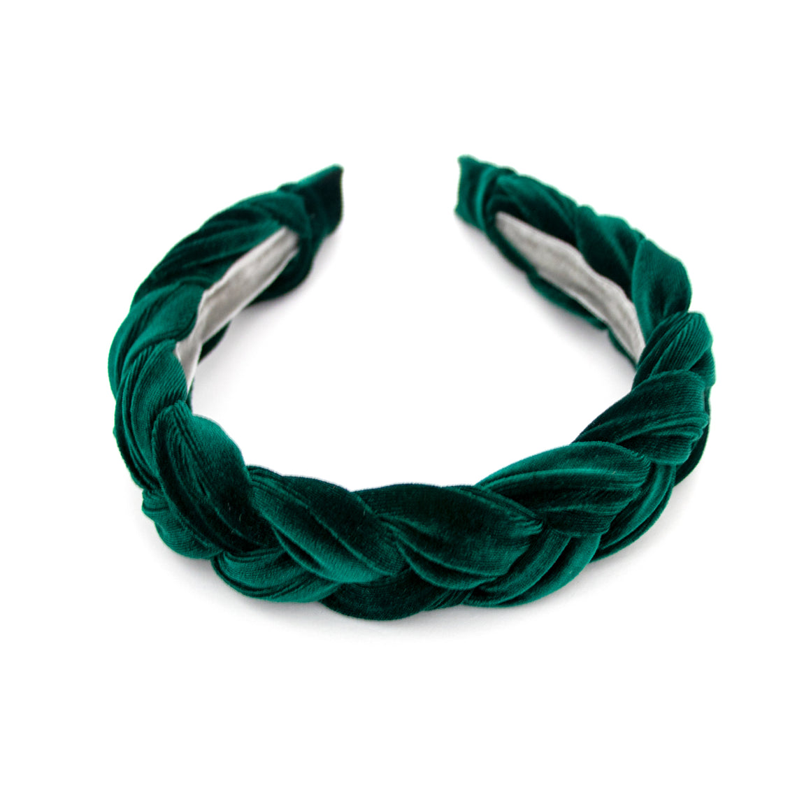 Emerald Braided Headband