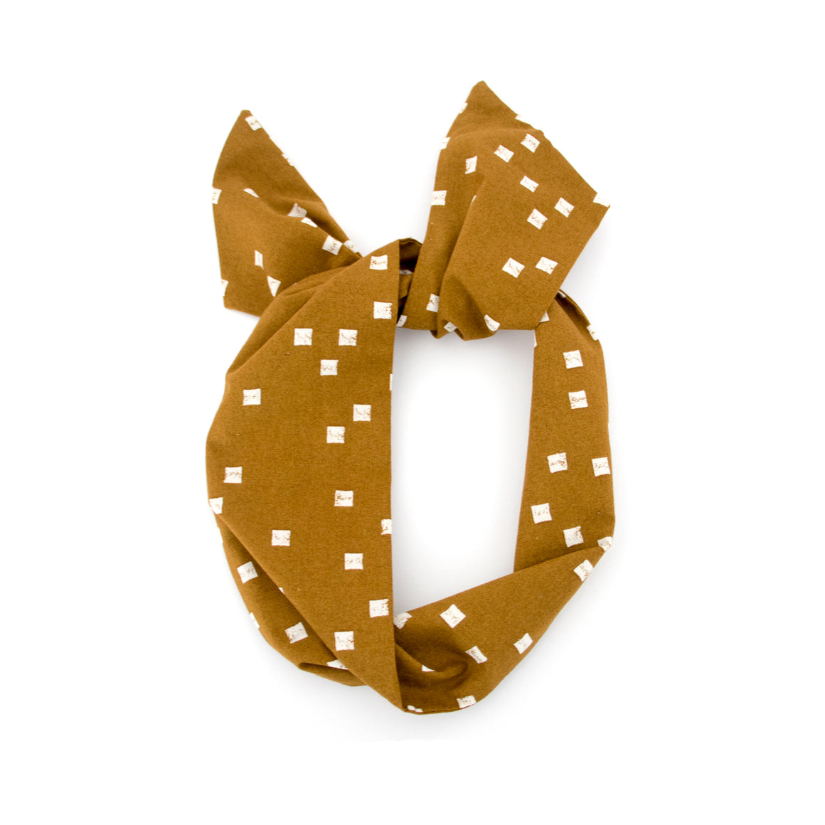 Mustard Square Wire Headband