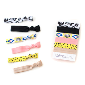 The Doodle Hair Tie Package