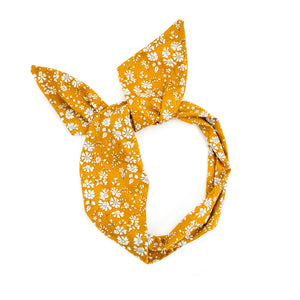 Mustard Liberty of London Wire Headband
