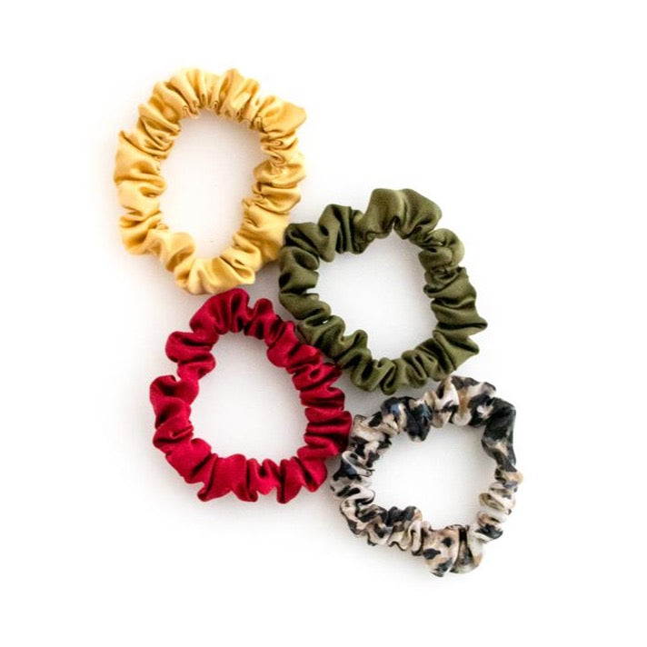 Winter 2020 Silk Scrunchies