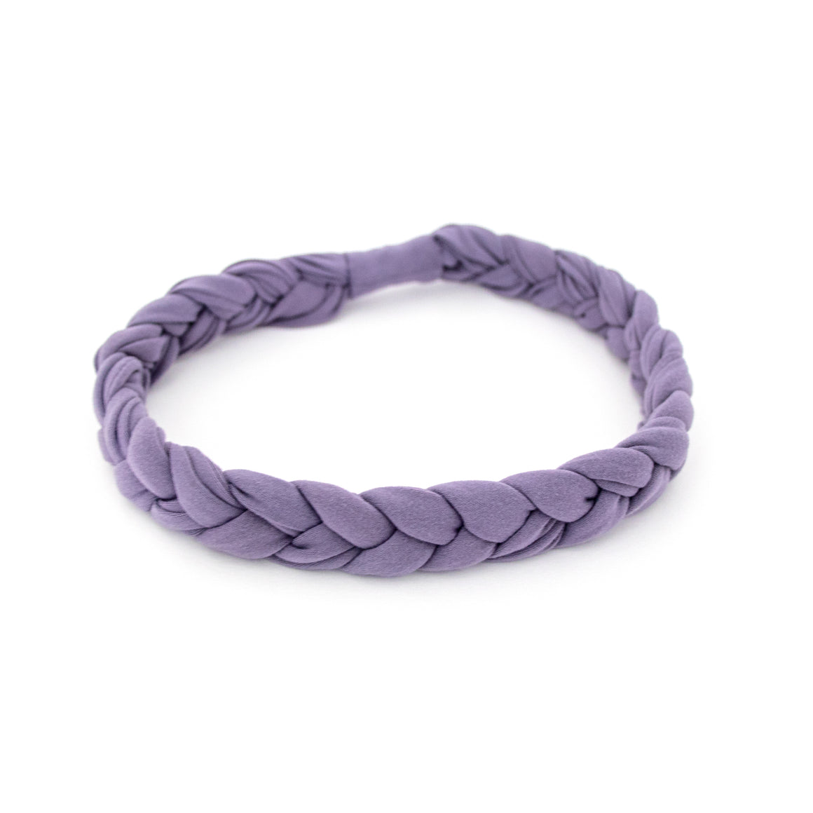 Dusty Purple Braided Workout Headband