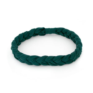 Emerald Braided Workout Headband