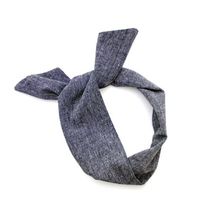pepper linen blend wire headband