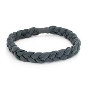 Coal Braided Workout Headband