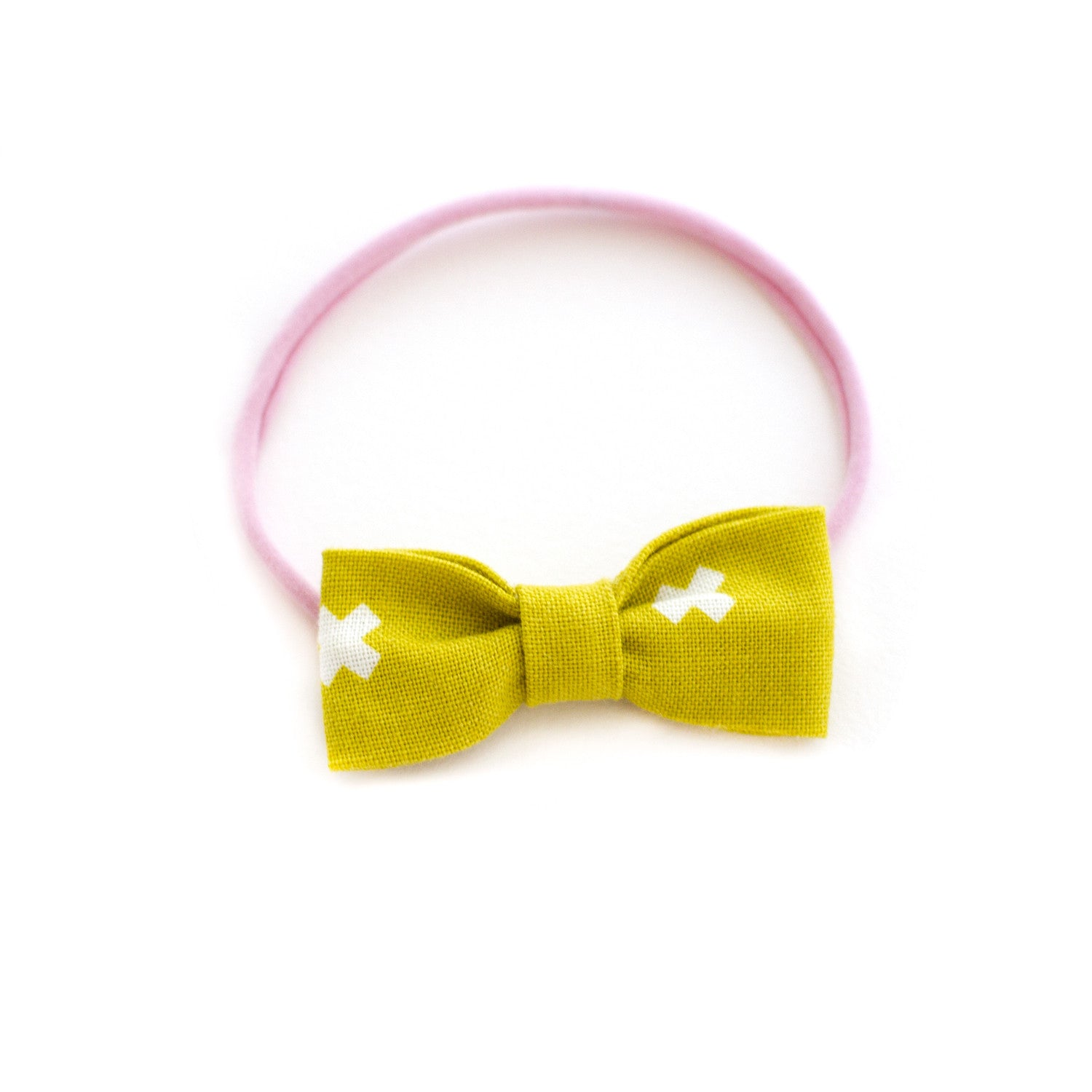mustard plus sign baby headband soft and simple 9c0d507e5b9