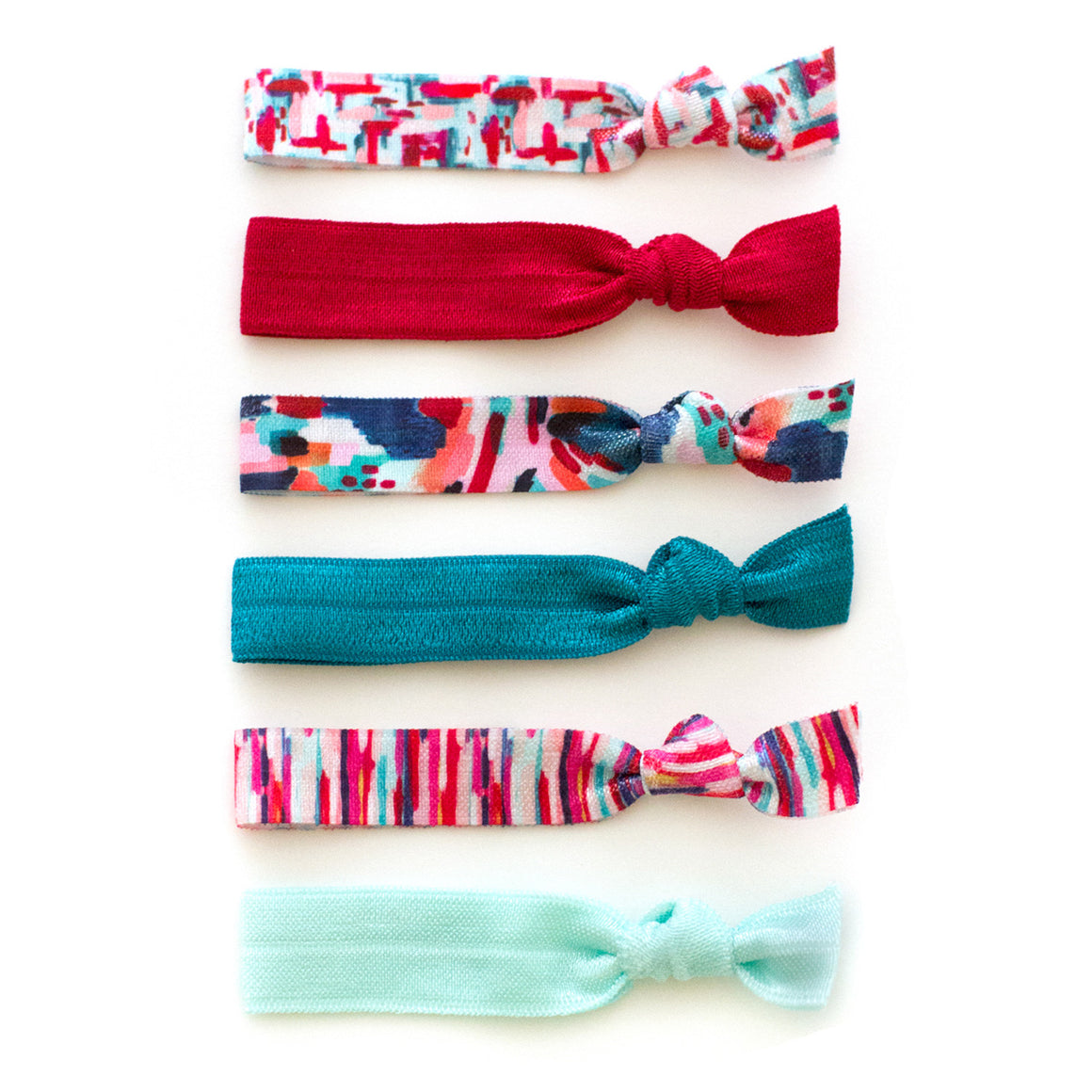 peace love joy hair ties for christmas and holidays stocking stuffers