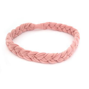 Rose Braided Workout Headband