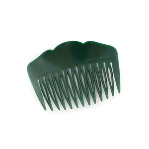 Vintage Green Rose Combs