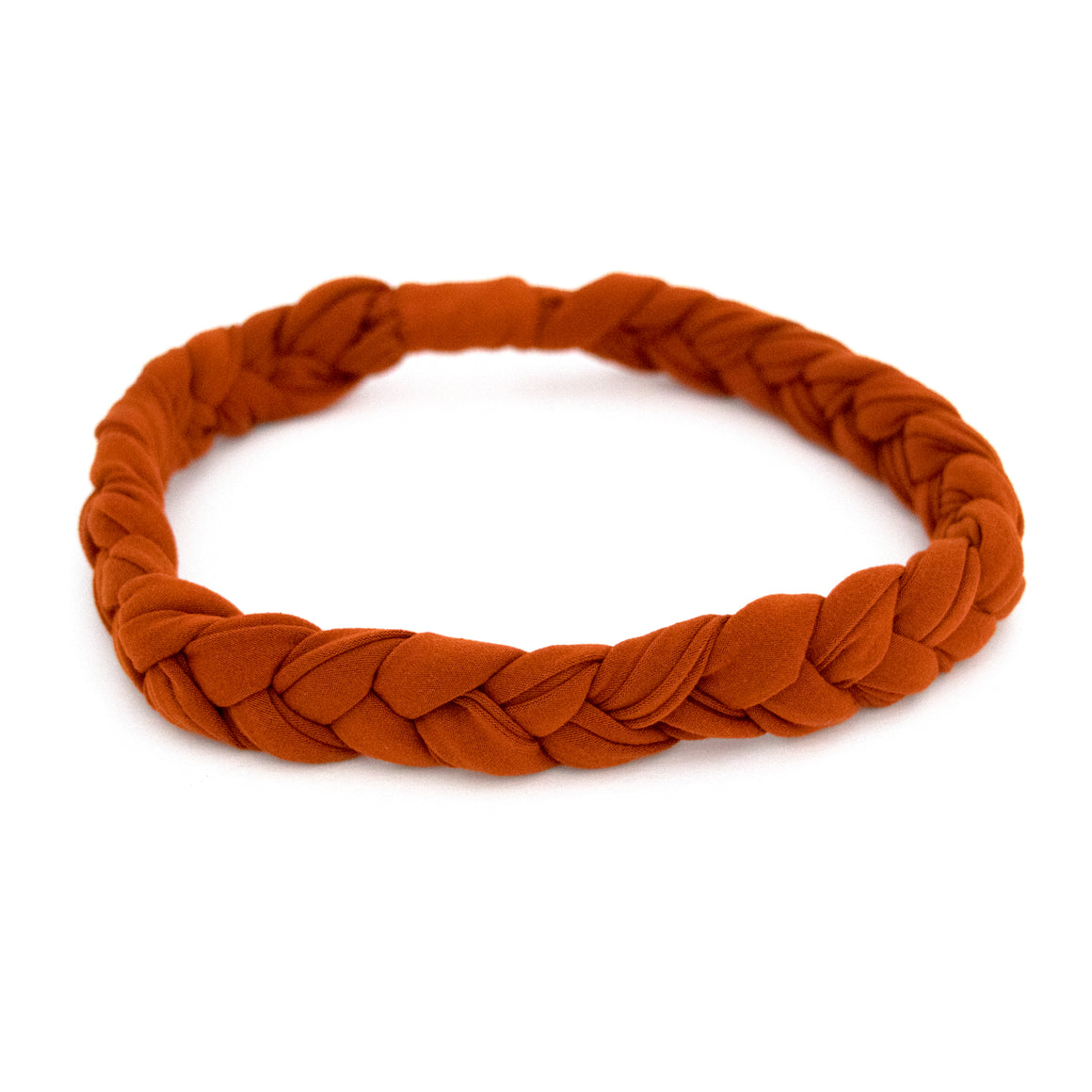 Rust Braided Workout Headband