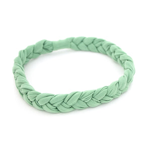 Sage Braided Workout Headband