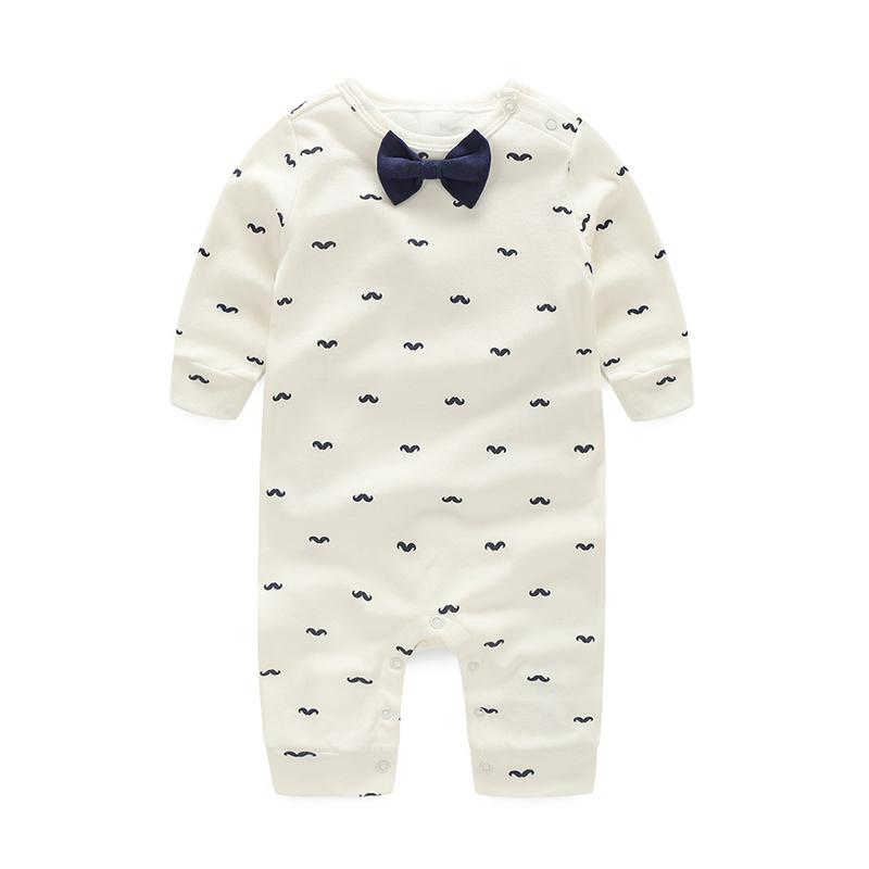 Baby Rompers Spring Autumn Active Full Sleeve Baby Boy Girl Clothes Printdresskily-dresskily