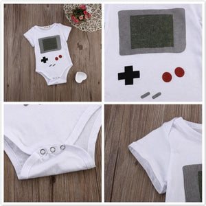 Cute Infant Baby Boys Girl Clothes Cotton Romper Jumpsuit Outfits 0-24M Whitedresskily-dresskily
