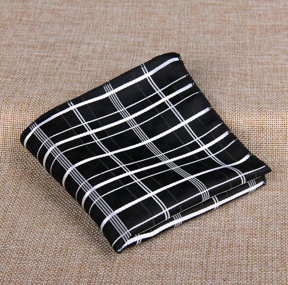 11 Styles Fashion Men's Cotton Pocket Square Western Style Floral Handkerchief fordresskily-dresskily