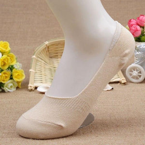 Free 20pcs=10 pairs/lot Bamboo Fiber cotton Anti-Slip female ankle socks spring Summerdresskily-dresskily