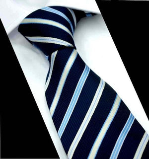 Neck Ties for Men Classic Design Striped Neckties Cravat Fashion Casualdresskily-dresskily