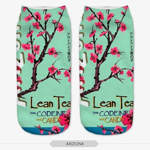 Canvas shoes Graphic 3D Full Print Unisex Low Cut Ankle Socksdresskily-dresskily