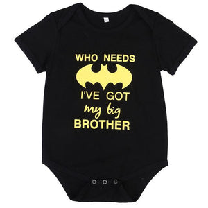 2017 Summer Batman Baby Romper Newborn Baby Boy Girl Clothes Short Sleevedresskily-dresskily
