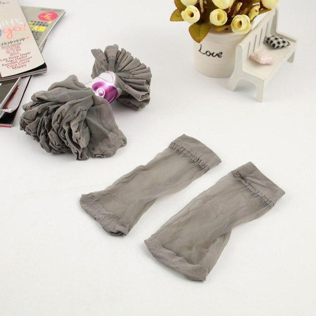 20Pcs=10Pair/Lot US$0.14Pair Hot Sale Cool Breathable Summer Style Sexy Black Skin Socksdresskily-dresskily