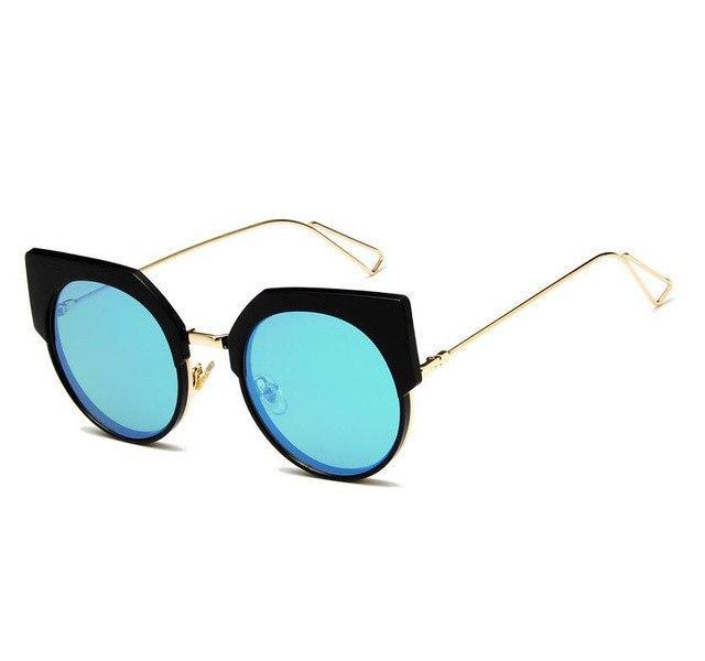 Fashion Cat Women Brand Design Cat eye Sunglasses Vintage Sun glasses Femaledresskily-dresskily
