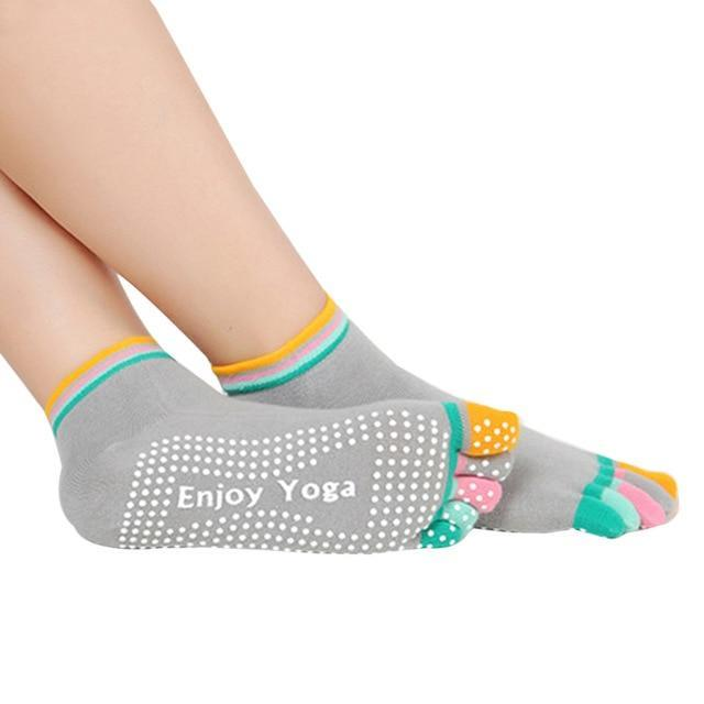 2016 Newly Design Socks Anti-slip Fingers 5 Toes Cotton Socks for Exercisedresskily-dresskily