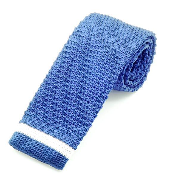 New Fashion Male Knit Tie Brand Slim Designer Mens Knitted Neckdresskily-dresskily