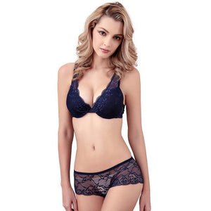 Intimate Deep V-Neck Push Up Bra And Panty Lace Bra Sexydresskily-dresskily