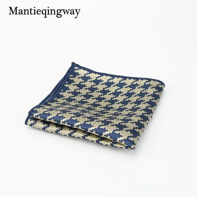 Striped Pocket Square Style Floral & Paisley Handkerchief for Men Suitdresskily-dresskily