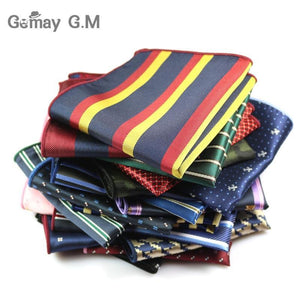 Men's Suits Polyester Handkerchiefs Woven Floral Pocket Square Hankies Chest Towel Formaldresskily-dresskily