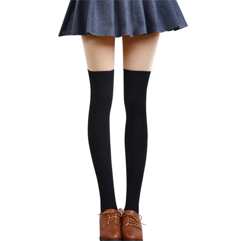Sexy Fashion Women Girl Thigh High Stockings Knee High Socks,5 Colorsdresskily-dresskily
