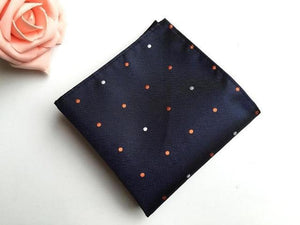 25*25cm Men's Business Suits Pocket Square Handkerchiefs for Wedding Fashion Polkadresskily-dresskily