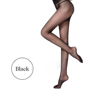 Summer Black Nylon Lady Tights Women's Fashion Elasticity Spandex Tights Femaledresskily-dresskily