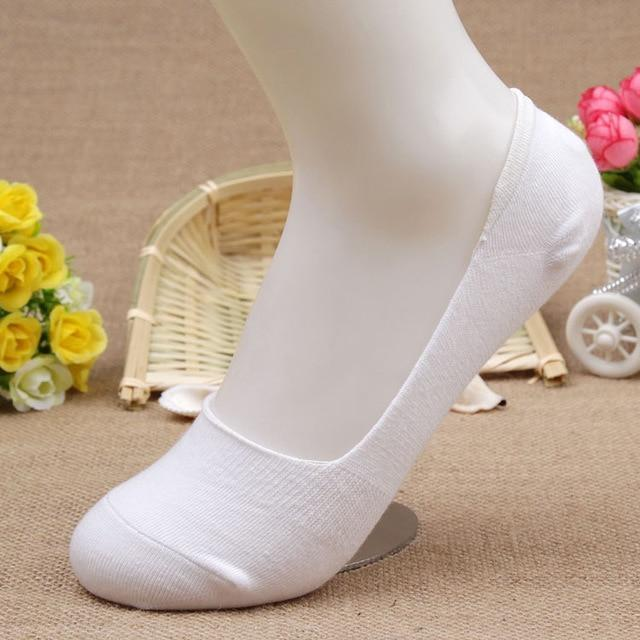 14pcs=7pairs/lot Candy Colors Bamboo fiber cotton Women's ankle Socks super invisible sockdresskily-dresskily