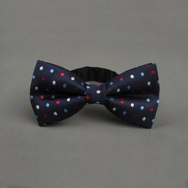 Hot Sale 1 PC Men Fashion Classic Colorful Adjustable Dots Gravata Bowdresskily-dresskily