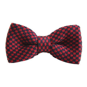 New Men's Bowtie Striped Bowtie Knit Tie Knitted Pre Tied Bowdresskily-dresskily