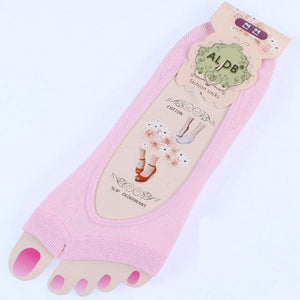 1 Pair Women Cotton Sock The Silicone Antiskid Invisible Liner Womendresskily-dresskily