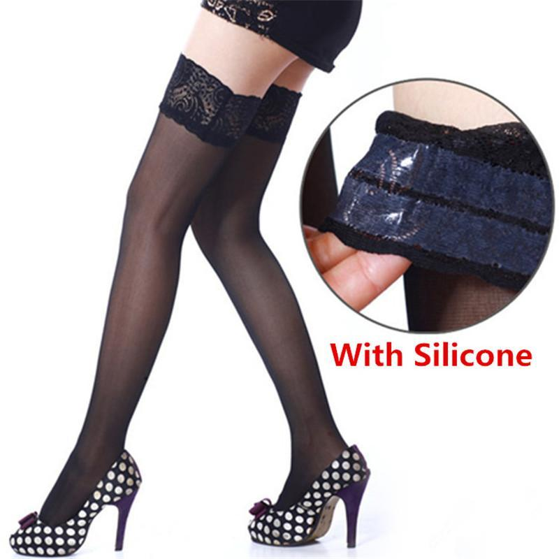 6 Colors Sexy Lace Stockings For Women Ladies Stay Up Thigh Highdresskily-dresskily
