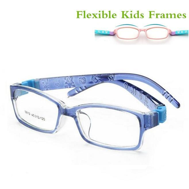 Unbreakable Flexible Safe Myopia Optical Glasses Frame Eyeglasses Kids Frames TR90 Eyeweardresskily-dresskily