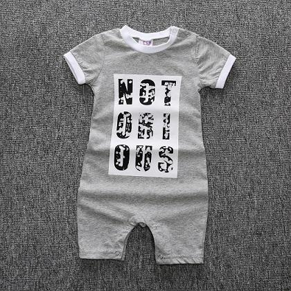 Jp-062 baby romper new men's cotton short-sleeved newborn baby clothes rompers babydresskily-dresskily