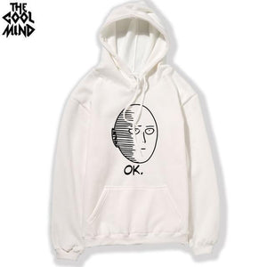 Top Quality cotton blend one punch man Printed men Hoodie Men'sdresskily-dresskily